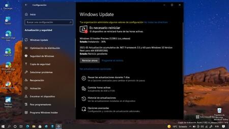 Microsoft lanza la Build 21390.1 ofreciendo nuevo diseño en algunos iconos, mejoras en el modo oscuro y más