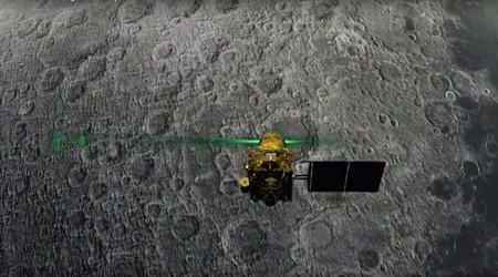 La India no logra conquistar la Luna: el módulo Vikram se estrella en su intento de aterrizar cerca del Polo Sur lunar