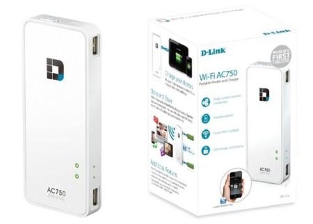 D-Link DIR-510L, router inalámbrico portátil compatible con WiFi AC