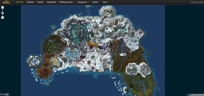 World of MapCraft lleva las tierras de 'World of Warcraft' a Google Maps
