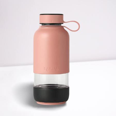 Botella Agua Coral Leuke