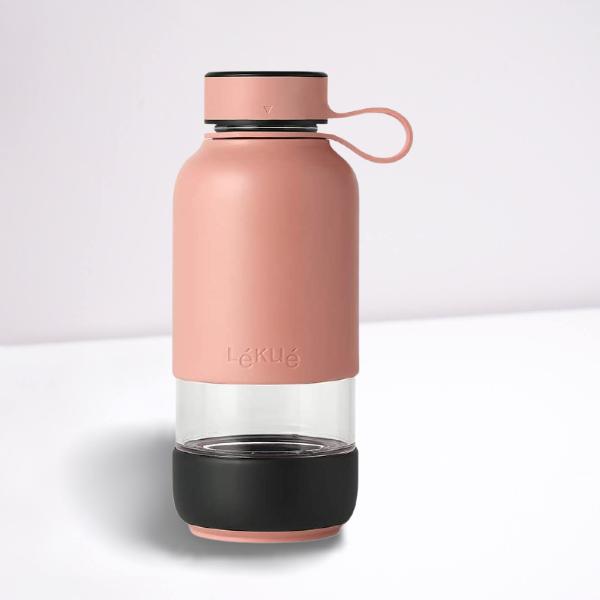 Botella de vidrio Leuké