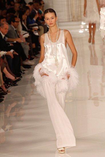 Ralph Lauren sabe la que está al caer: colección Primavera-Verano 2012 en la Semana de la Moda de Nueva York