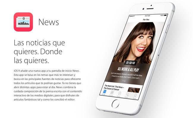 Probamos la nueva app News de Apple