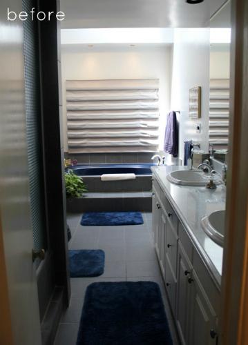 El baño antes de la reforma minimalista