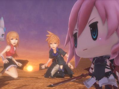 World of Final Fantasy nos deja ver su argumento en un emotivo tráiler [TGS 2016]
