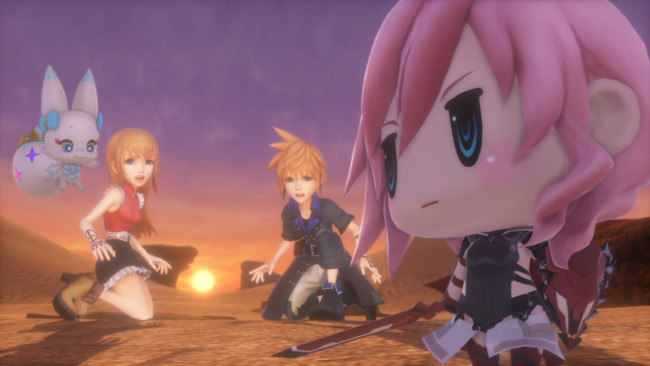 World Of Final Fantasy Lightning