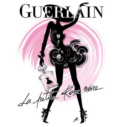 """La Eau de Toilette viste la fragancia """"La Petite Robe Noire"""" de Guerlain"""
