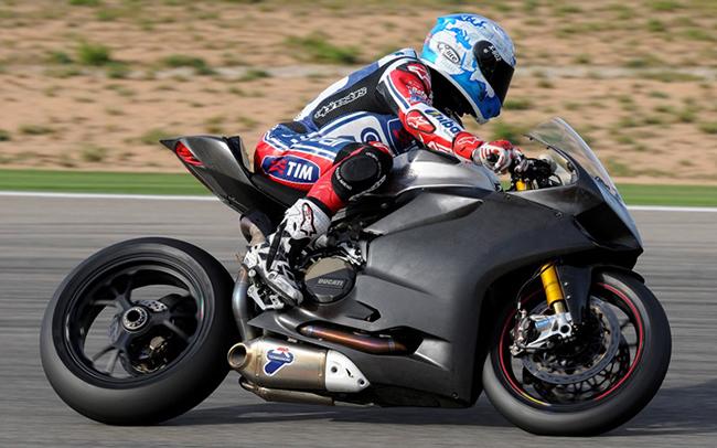 Carlos Checa Ducati 1199 Panigale RS