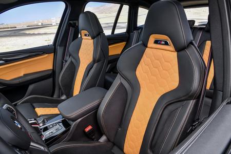 BMW X3 M 2020 asientos