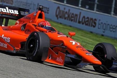 Simon Pagenaud podría ser el encargado de estrenar el motor Honda