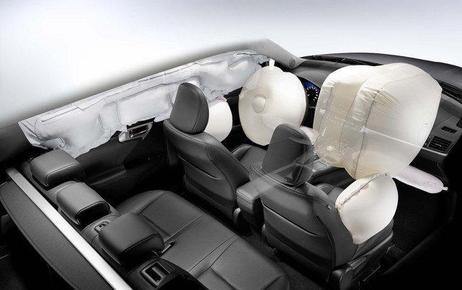 Lexus CT 200h - Airbags