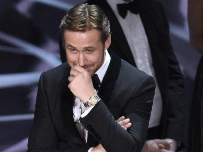Ryan Gosling explica por qué no podía parar de reír en los Oscars