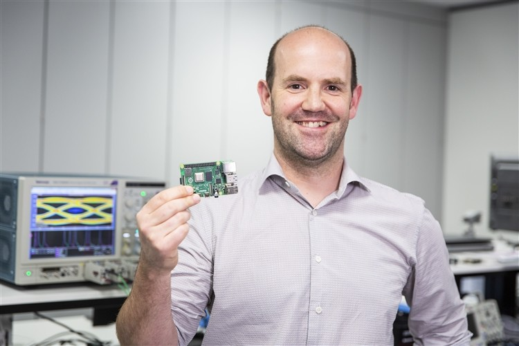 Eben Upton, creador de la Raspberry Pi 4:
