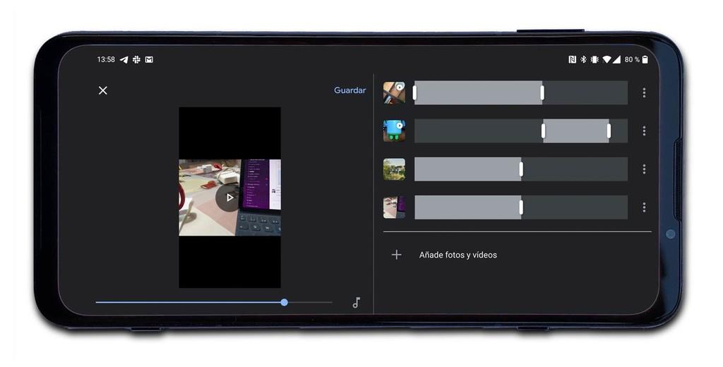 Cómo unir vídeos en Android sin instalar aplicaciones