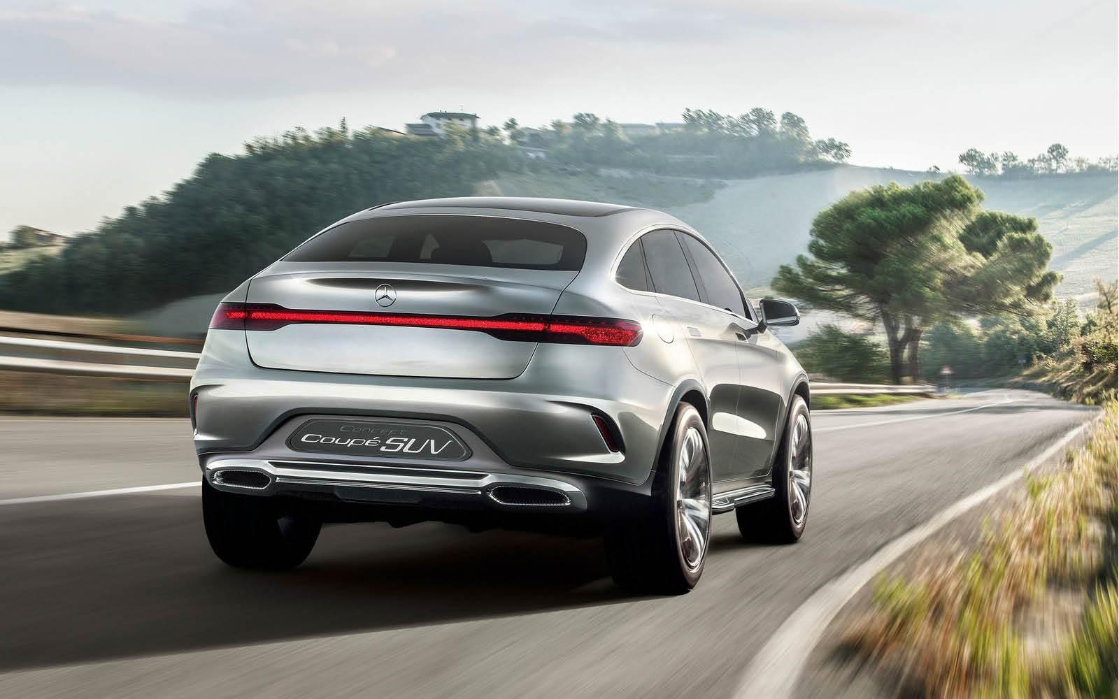 Foto de Mercedes-Benz Coupé SUV Concept (12/30)