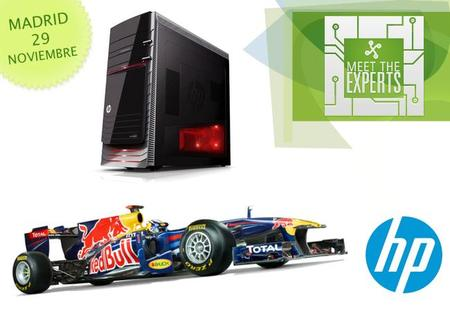 HP llevará un asiento de conducción para darle al 'F1 2011' en los Premios Xataka 2012