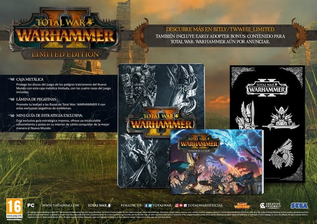 Total War Warhammer Ii Edicion Limitada