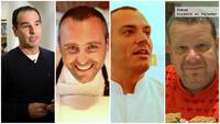 Bocadillos solidarios preparados por cuatro grandes chefs