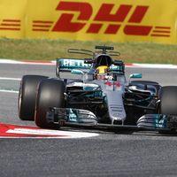 Pole position de Lewis Hamilton en el GP de España de F1. Alonso séptimo