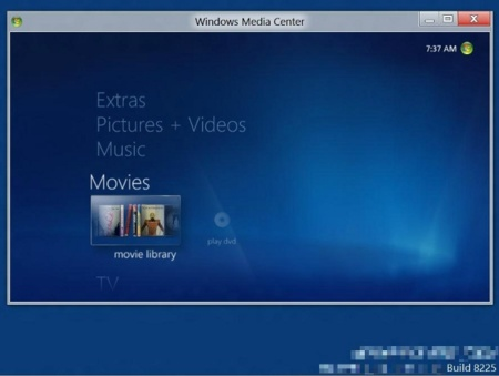 El Media Center en Windows 8