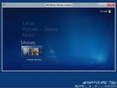 El Media Center en Windows 8