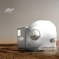 Xiaomi también mirando a Marte: han colaborado en este concepto de hábitat marciano basado en el reciclaje y la simplicidad