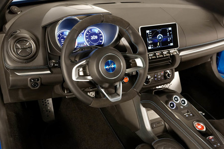 Alpine A110 Premiere Edition INterior
