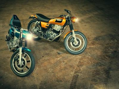 Yamaha SR 400 Bronco y Stallion by Kedo