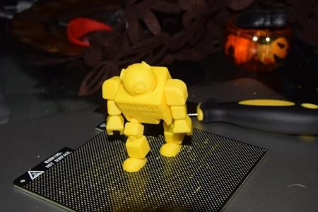 Nuestro robot ya impreso
