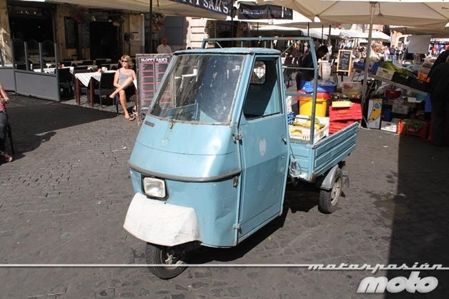 Motocarro en Roma