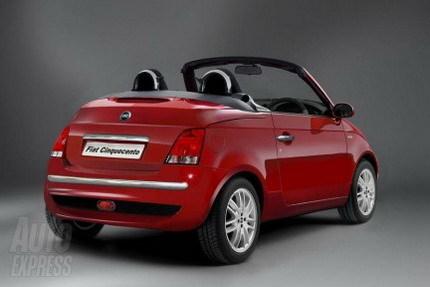 """El Fiat 500 cabrio podría presentarse en el Salón de Ginebra, y con techo """"retro"""""""