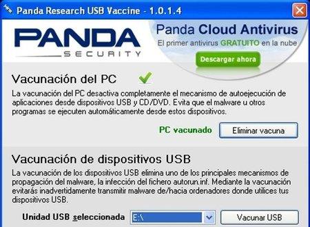 Panda USB Vaccine, una ayuda para mejorar la seguridad de los puertos USB