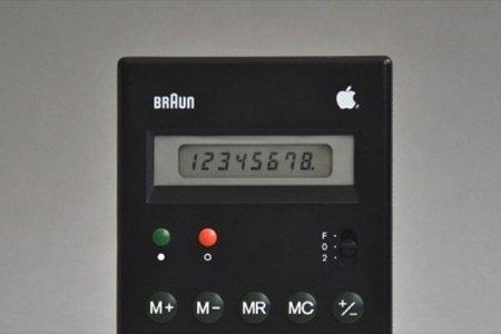 Imagen de la semana, la calculadora de Apple en los años 80