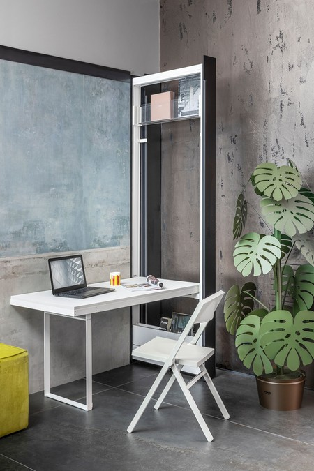 Mueble para ocultar la mesa de trabajo
