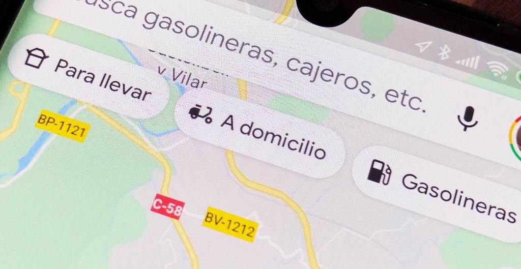 Google Maps hace más sencillo el confinamiento destacando los restaurantes con envío a domicilio