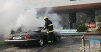 Dolorpasión™: Jaguar XJ-S recién restaurado, pasto de las llamas