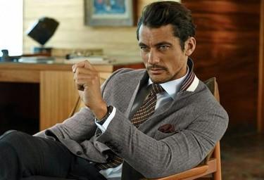Moda para hombres: con David Gandy todo sabe mejor