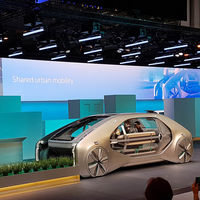 El Renault EZ-GO es el taxi del futuro: autónomo, eléctrico y compartido