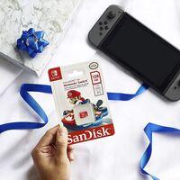 Añade 128GB de espacio adicional a tu Nintendo Switch por menos de 22 euros con esta tarjeta SanDisk en oferta en Amazon