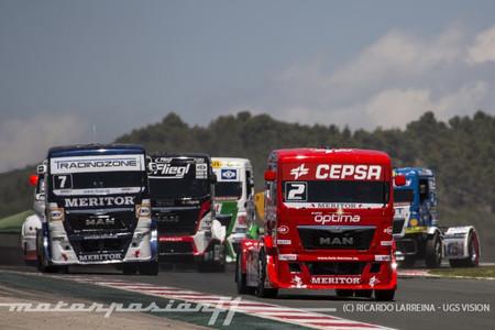 Fin de semana redondo para Antonio Albacete y el CEPSA Truck Team