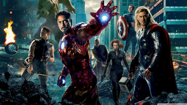 The Avengers 2012 Movie 2 Wallpaper 1366x768