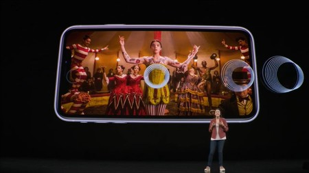 Sonido envolvente en el iPhone 11