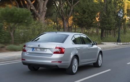 Škoda Octavia 2013 plata exterior trasera