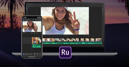 Adobe Premiere Rush CC, una app para crear, editar y compartir vídeos desde el móvil