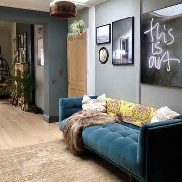 Nueve ideas decorativas en nueve ambientes distintos dentro de una casa encantadora