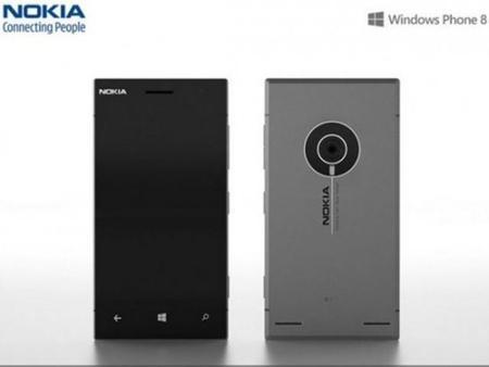 Imágenes de lo que podría ser el nuevo Nokia Lumia EOS, la cámara con teléfono