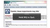 Google Chrome para Mac tendrá una confirmación para salir de la aplicación