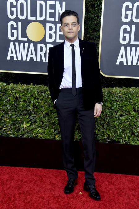 Rami Malek Red Carpet Alfombra Roja Trendencias Hombre Globos De Oro Golden Globes 2020 02