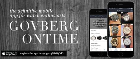 Govberg presenta una App perfecta para los amantes de los relojes